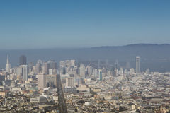 San Francisco panoramic view Royalty Free Stock Image