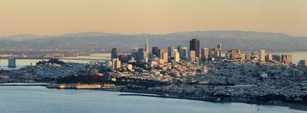 San Francisco panoramisch stockbilder