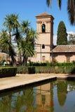San Francisco Parador, Alhambra Palace. Stock Image