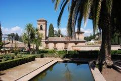 San Francisco Parador, Alhambra Palace. Royalty Free Stock Photo