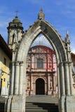 San Francisco parish, Uruapan II. San Francisco parish located in Uruapan city, in the mexican state of michoacan royalty free stock photography