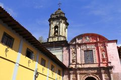 San Francisco parish, Uruapan IV Stock Image