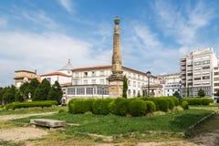 San Francisco Park in Ferrol, Galicia, Spain Stock Image