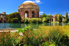 San Francisco park Palace of Fine Arts Royalty Free Stock Image