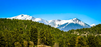 San Francisco Peaks Flagstaff Arizona Stock Photography