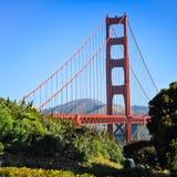 San Francisco - pico del chivato de puente Golden Gate Imágenes de archivo libres de regalías