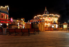 San Francisco Pier 39 at Night Royalty Free Stock Photo