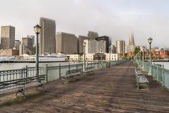 San Francisco Pier 7 fotografia stock libera da diritti