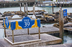 San Francisco pier 39 Stock Photography