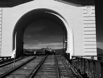 San Francisco Pier 43 - paesaggio di area della baia Immagini Stock