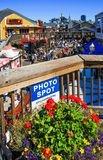 San Francisco Pier 39 Photo Spot Royalty Free Stock Photography