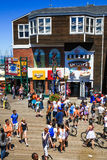 San Francisco Pier 39 Summer Fun Royalty Free Stock Photo