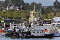 San Francisco - Police watercrafts Stock Photography