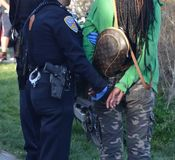 2014 San Francisco 420 Pot Celebration Royalty Free Stock Images