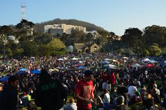2014 San Francisco 420 Pottenviering Stock Foto