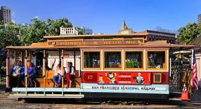 San Francisco Powell-Hyde Streets Cable Car fotografia stock libera da diritti