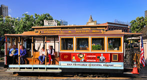 San Francisco Powell-Hyde Streets Cable Car Royalty Free Stock Photography