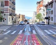 San Francisco: Powell Street stockbilder