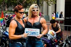 San 2015 Francisco Pride Arkivbilder