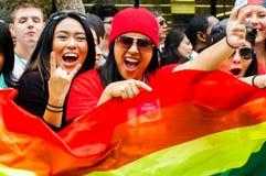 San 2015 Francisco Pride Arkivbild