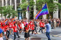 San Francisco Pride Parade Group Image stock