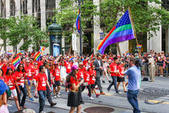 San Francisco Pride Parade Group Stock Image