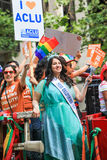 San Francisco Pride Parade Plus America Miss Californië Stock Fotografie