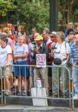 San Francisco Pride Parade Watchers Fotografia Stock