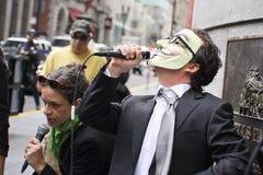 San Francisco - protesta Fotografia Stock Libera da Diritti
