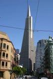 San Francisco Pyramid. In central SF Royalty Free Stock Photo