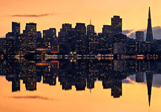 San Francisco Reflection Stock Image