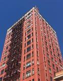 San Francisco Retro Modern Architecture, på en klar dag Arkivbild