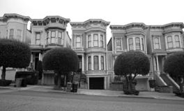 San Francisco residential royalty free stock photos