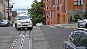 San Francisco rider stock video footage