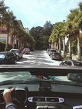 San Francisco Roads door een Camaro royalty-vrije stock fotografie