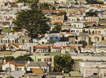 San Francisco Rooftops Royalty Free Stock Photos