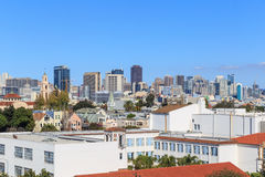 San Francisco Rooftops Images libres de droits