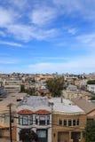 San Francisco Rooftops Royalty Free Stock Image