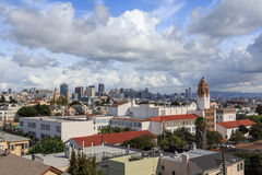 San Francisco Rooftops Royalty Free Stock Image