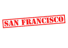 SAN FRANCISCO. Rubber Stamp over a white background Royalty Free Stock Photography