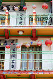 San Francisco's Chinatown is one of North America's largest Chinatowns.  royalty free stock photos