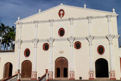 San Francisco's Church outdoors  from Nicaragua Royalty Free Stock Photo
