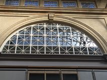 San Francisco-` s Fähren-Gebäude ` s ` s obersten Stockwerks Fenster, 2 Stockfotos