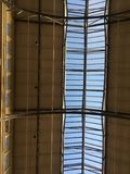 San Francisco-` s Fährengebäude ` s ursprüngliches Himmellicht Stockbilder