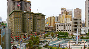 San Francisco's famous Union Square Royalty Free Stock Images