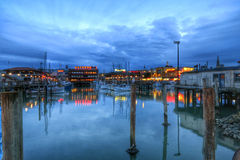 San Francisco's Fisherman's Wharf Stock Photography