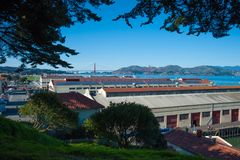 San Francisco`s Fort Mason Royalty Free Stock Images