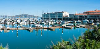 San Francisco-` s Fort-Maurer in San Francisco Bay Stockfoto