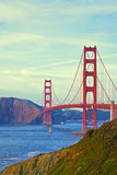 San Francisco's Golden Gate Bridge. Golden Gate Bridge in San Francisco, California Royalty Free Stock Photo