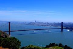 San Francisco ` s Golden gate bridge Royalty-vrije Stock Afbeelding